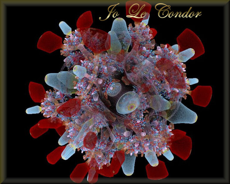 Un joli bouquet pour les dames....En fractales