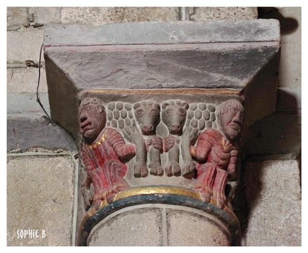 Chapiteaux romans en Basse Auvergne  2.