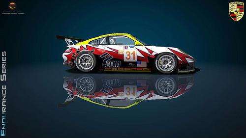 Team Petersen White Ligthning Porsche 996RSR 2006