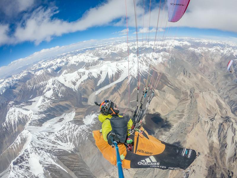 Plaf à 7950 m, pour nos deux bivouaqueurs