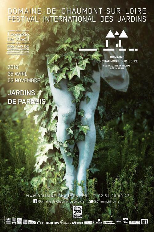 Jardins de Paradis à Chaumont sur loire (1/2)