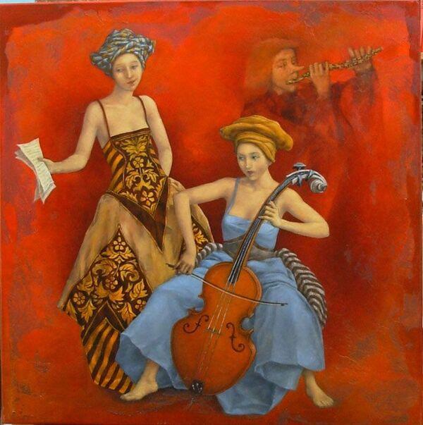 Mardi - Mon artiste du mardi : Catherine Chauloux