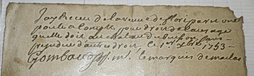 Jeanne Mantelin 1743-1755
