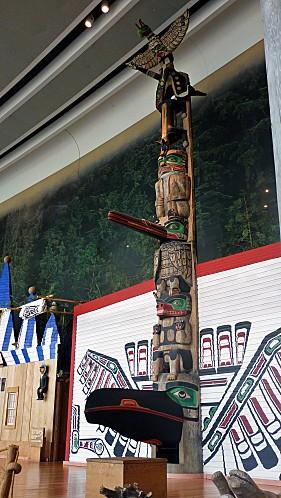 Ottawa Musée Civilisations Totem 1
