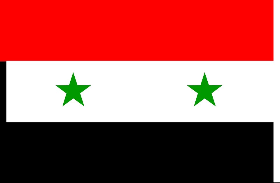 Syrien, Drapeau, Arabe, République, Pays, Nation, Syrie