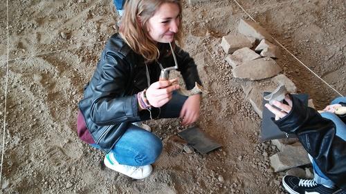 Sortie des élèves de Patrimoine au musée Arkéos