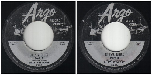 BILLY STEWART - BILLY'S BLUES