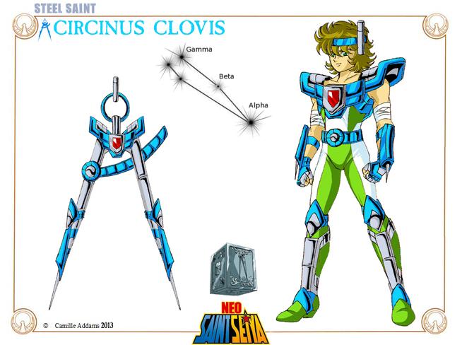 XXIII - Armure du Compas (Circinus Cloth)