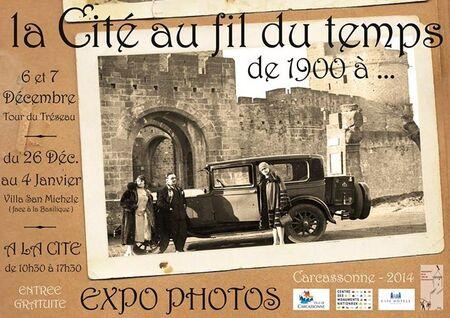 """Exposition """"La Cité au fil du temps de 1900 à..."""""""