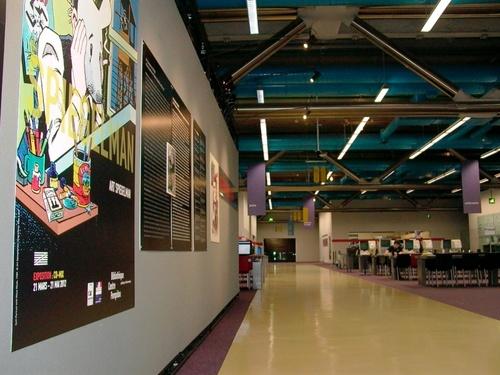 Art Spiegelman à la bibliothèque du Centre Pompidou