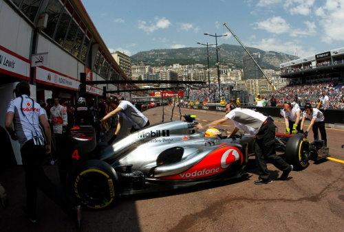 GP Monaco : Qualifications - Hamilton 4°, Button 13°