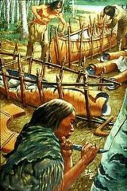 Les canoës
