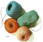 Pelotes coton