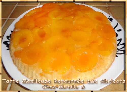Tarte Retournée aux Abricots Moelleuse