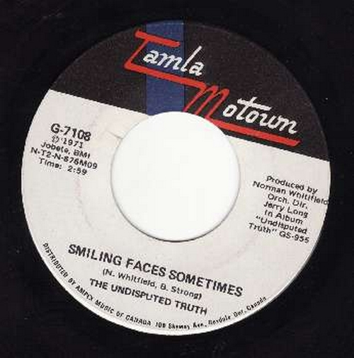 1971 : Single SP Gordy Records G 7108 [ US ]
