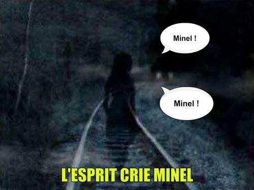 L'esprit crie Minel !!!