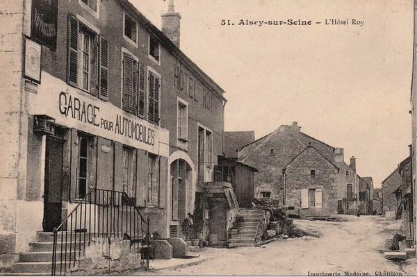 L'histoire de l'hôtel Roy d'Aisey sur Seine