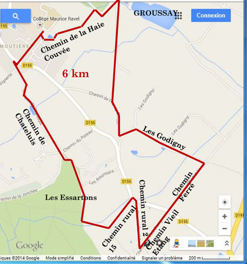 Entre Montfort l'Amaury et Les Mesnuls