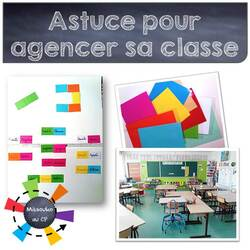 Mettre au point l'agencement de sa classe