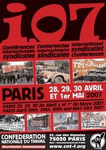 I07 - Conférences syndicales internationales et concert (Paris)