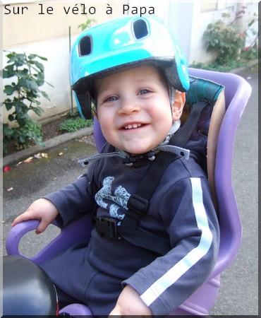 Sur le vélo de Papa