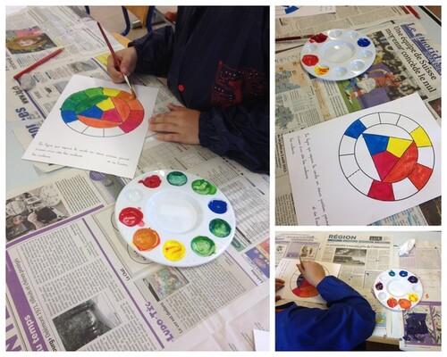 La leçon sur le cercle chromatique...