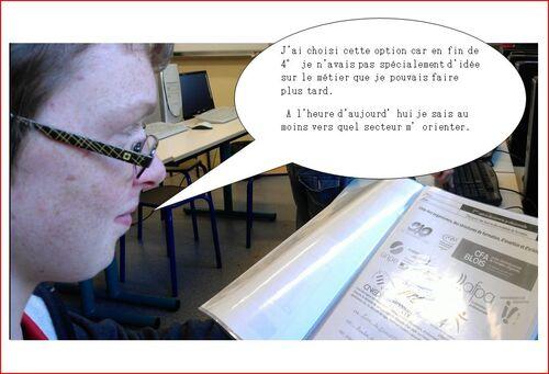 La D.P.3 vue par les élèves