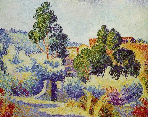 Peinture de : Henri Edmond Cross