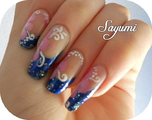Nail Art Tropical Manicure