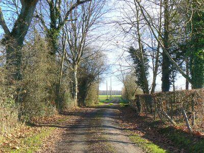 Le sentier Saint-Hubert