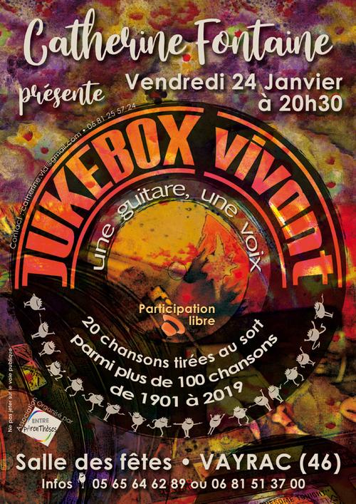 Catherine FONTAINE présente JUKEBOX vivant à Vayrac (46)