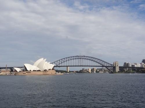 Sydney, sous la pluie…