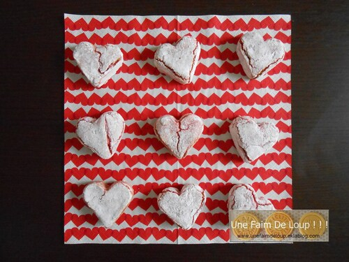 Amaretti de la Saint-Valentin