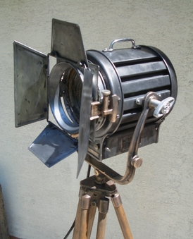 PROJECTEUR MOLE RICHARDSON 2 O'range metalic 1
