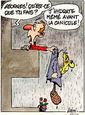 "Le coucou du vendredi, haïku, senryû, thème: ""Les yoyos de la météo""..."