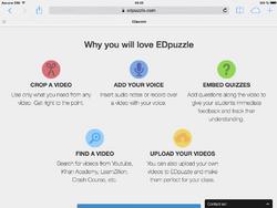 Faire des vidéos interactives avec ED Puzzle
