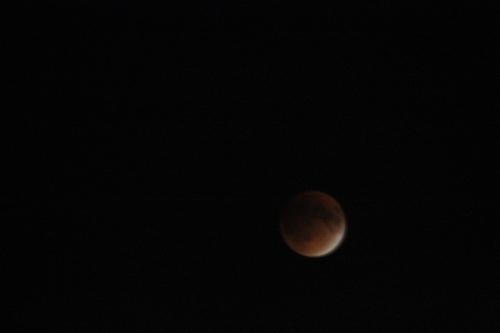 Lune de Sang depuis New York Williamsburg