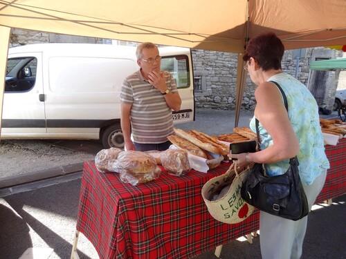 Le marché gourmand 2013 de Villiers le Duc