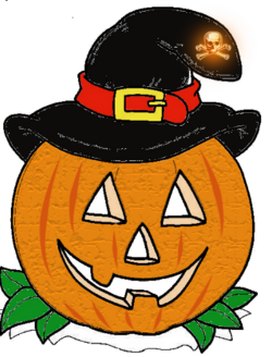 Cliparts PNG pour Halloween