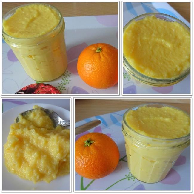 Orange Curd ou Clémentine Curd (sans beurre et au micro-ondes)