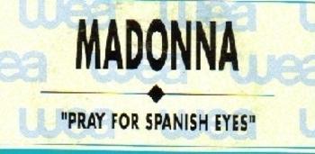 pray for spanish eyes