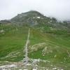 Muret en pierres sèches à l'Ouest du col du Pourtalet