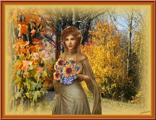 La plume de l'automne