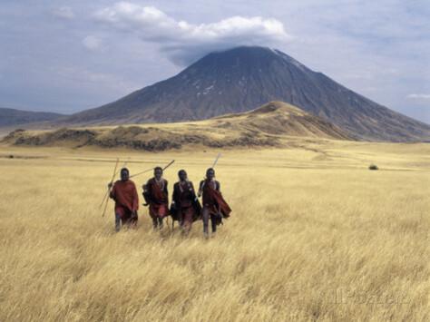Oldoinyo Lengaï, Montagne Sacrée des Masaïs