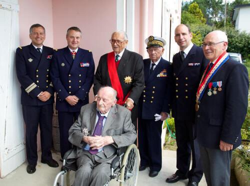 * Adieu au Compagnon Etienne SCHLUMBERGER, des Forces Navales Françaises Libres
