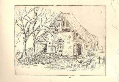 Blog de mimipalitaf :mimimickeydumont : mes mandalas au compas, eau-forte à l'école des beaux-arts... l'ancienne tuilerie