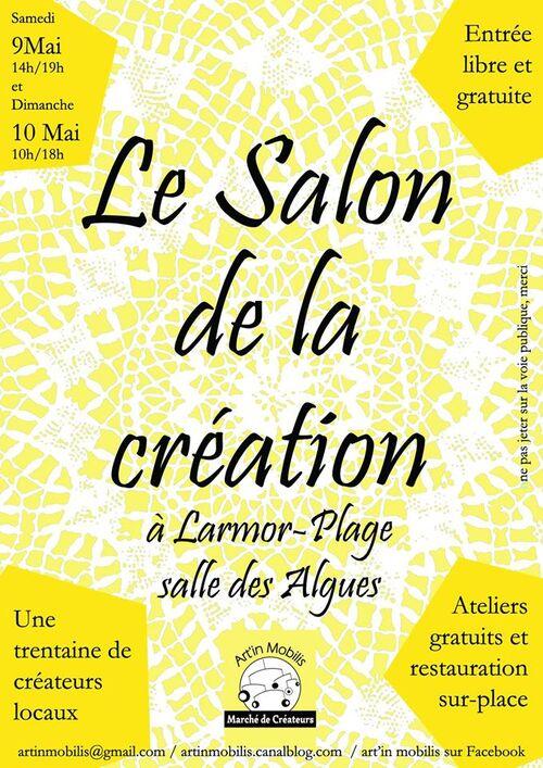 Salon de la création à Larmor-Plage