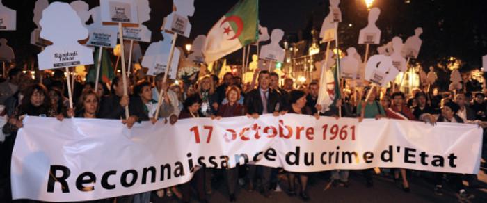Monsieur le président, que s'est-il passé  exactement le 17 octobre 1961 à Paris   et en banlieue ?
