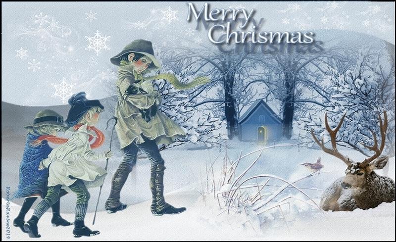 Merry christmas -RobertaRavine