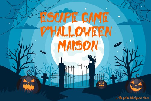 Escape Game d'Halloween maison pour enfant